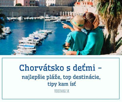 chorvátsko, dovolenka s deťmi