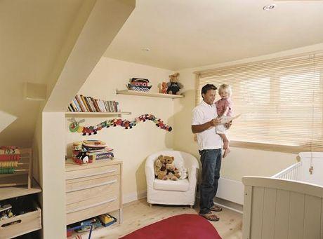 c7497d7dd359 Náučný rozmer a pestrosť stenám detskej izby dodajú kreatívne poskladané  koláže