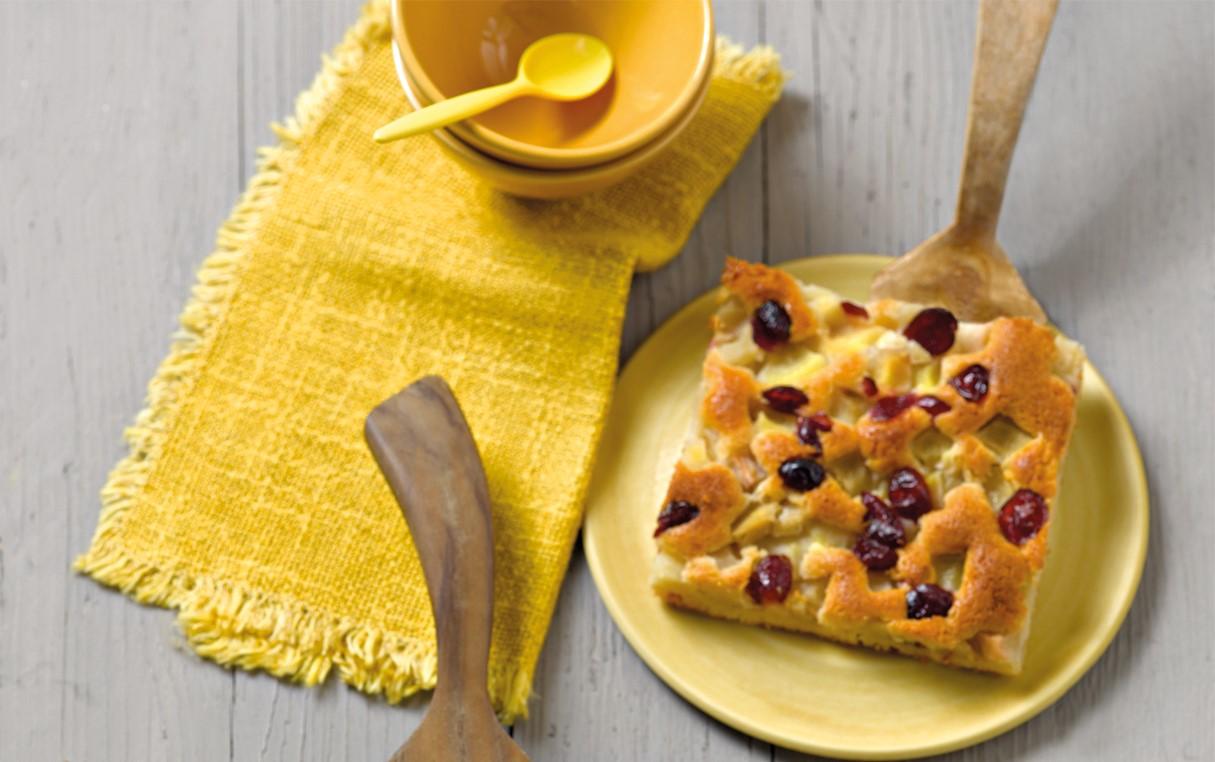 Celozrnný jablkový koláč (hrejivý)