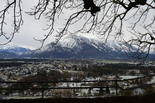 Salzburg je zimná rozprávka