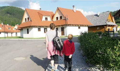 Gothal. Slovenská dedina