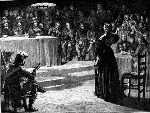 Poprava, smrť Márie Antoinetty.