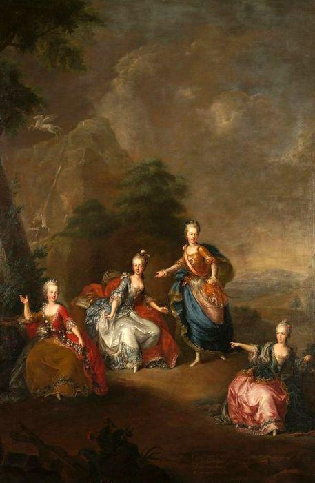 Mladšie dcéry Márie Terézie