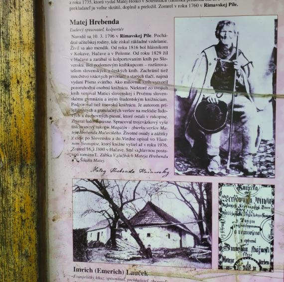 Matej Hrebenda, slepý kolportér a marec