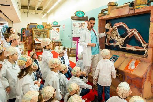 Za prvý víkend videlo výstavu MOJE TELO v Poluse takmer 800 detí