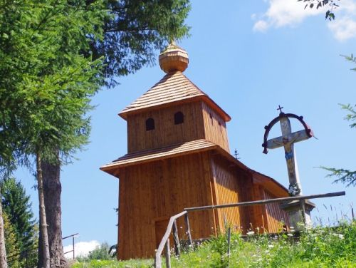 Drevené kostolíky pod Vihorlatom (autom)
