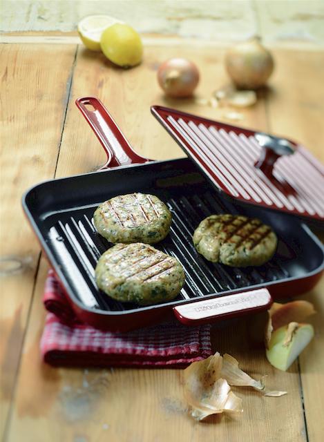 Morčacie karbonátky s koriandrom a restovanou zeleninou