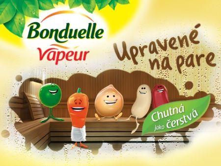 Bonduelle Vapeur, zelenina upravená na pare!