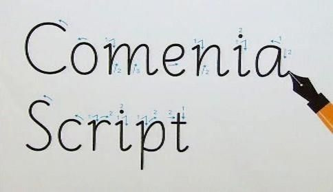 Comenia Script - nové písmo