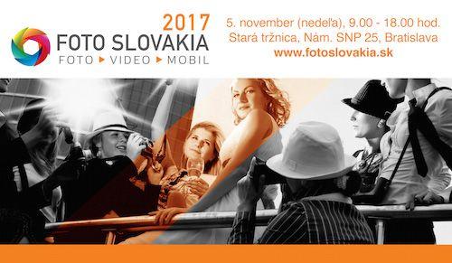FOTO SLOVAKIA - Pozývame vás na najväčšie podujatie o fotografii