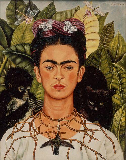 Farebný smútok Fridy Kahlo