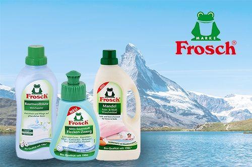 Potrpíte si na kvalite a zároveň máte radi prírodu? Vyskúšajte produkty Frosch z Rakúska a Nemecka