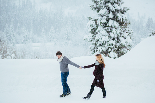 Vianoce s tehotnou manželkou