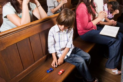 Ako deti naučiť prežívať svätú omšu