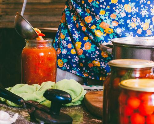 Domáce lečo zeleninové, recept