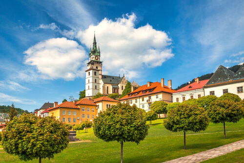 Dovolenka na Slovensku, kremnica