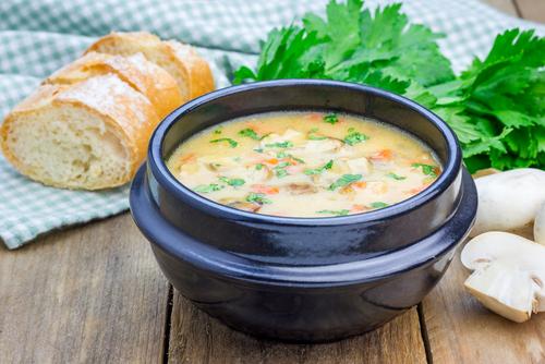 Kuracia ragú polievka