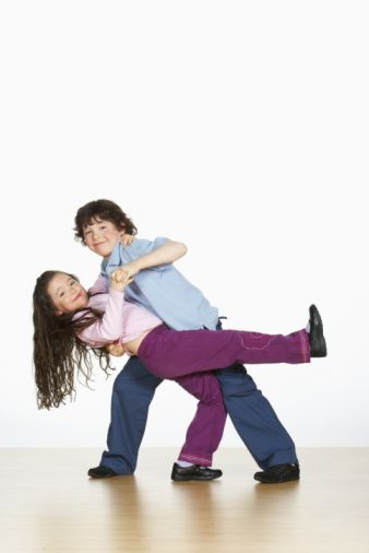 Tanec a deti.