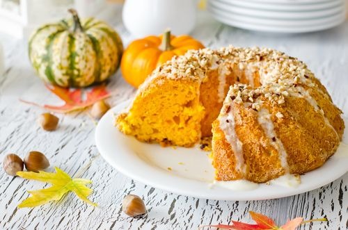 Raňajky ideálne na jesenné ráno? Skúste tekvicovú bábovku