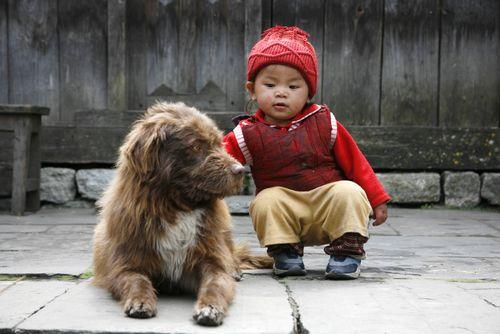 Tibetská výchova: do 5 rokov ako králi, od 5 do 10 ako otroci