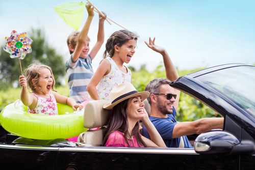 Čím zabaviť deti na ceste autom