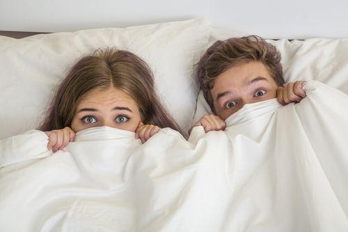 Puberťáci v posteli