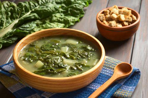 Krémová polievka s mangoldom