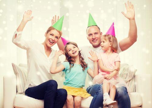 Silvester s deťmi