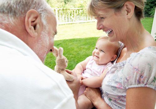 Starí rodičia a vnúčatá alebo rodičia a ich rodičia