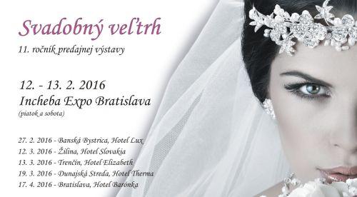 Svadobný veľtrh Incheba Expo Bratislava