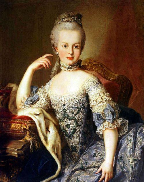 Mária Antoinetta, dcéra Márie Terézie