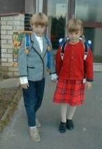 Dvojčatá do školy
