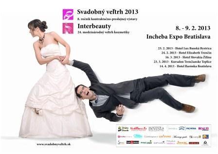 Pozvánka na Svadobné veľtrhy 2013