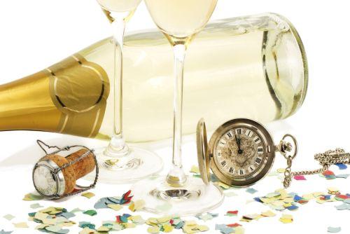 Šumivé víno, sekt a Silvester