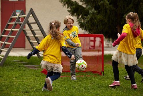 Unikátny projekt Dajme spolu gól podporuje 3400 škôlkarov a mieri aj do škôl