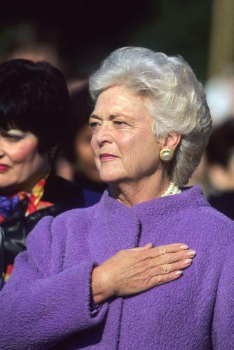 Mala 6 detí a muža a syna prezidenta. Barbara Bushová