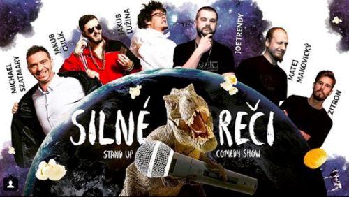 Komici zo stand-up comedy show Silné Reči