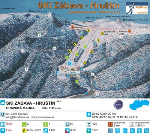 Hruštín - Ski Zábava