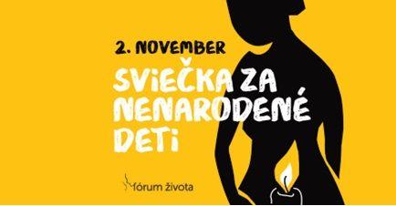 V kampani Sviečka za nenarodené deti sa tento rok pozornosť sústredí na ženu