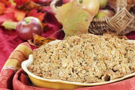 Tetkin jablkový koláč