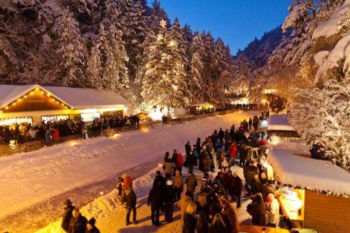 Najkrajšie vianočné trhy v Dolnom Rakúsku